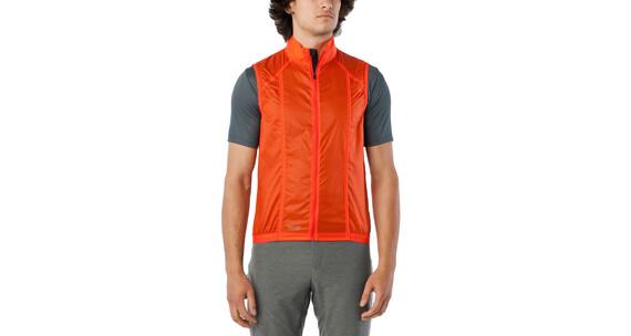 Giro Wind Vest Men glowing red